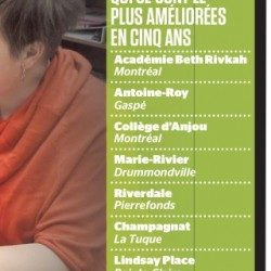 Le Collège d'Anjou dans le top 10 des écoles secondaires