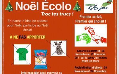 NOËL ÉCOLO- NON À LA SURCONSOMMATION!